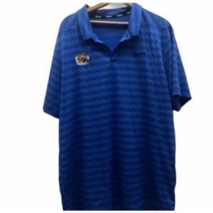 Nike Golf blue 2XL XXL Crabs polo